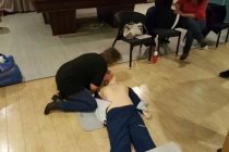 AED - reanimatie training 2017